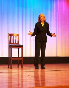 HP CEO Meg Whitman (not channeling Clint Eastwood, don't worry)