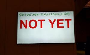 Veeam Not Yet