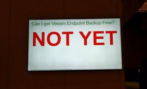 Veeam Not Yet