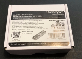 A StarTech optical module new-in-box