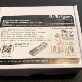 A StarTech optical module new-in-box