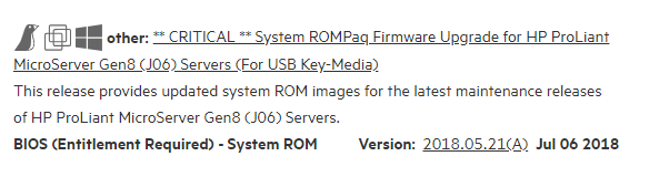 gen8 firmware update